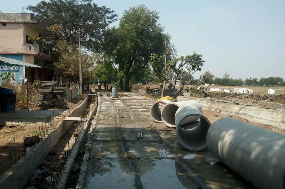 Drain_Contruction_under_Rurban_Mission_Maharashtra