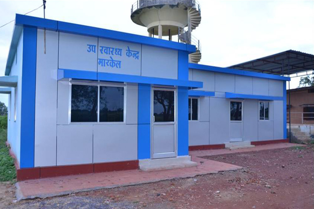 Construction of Health Center