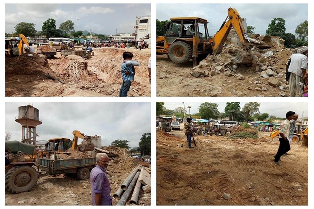Constrution of Bus Stand