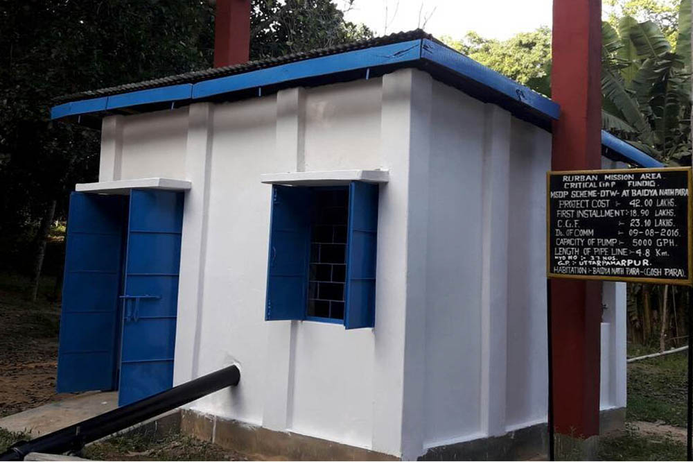 24x7 Water Supply System