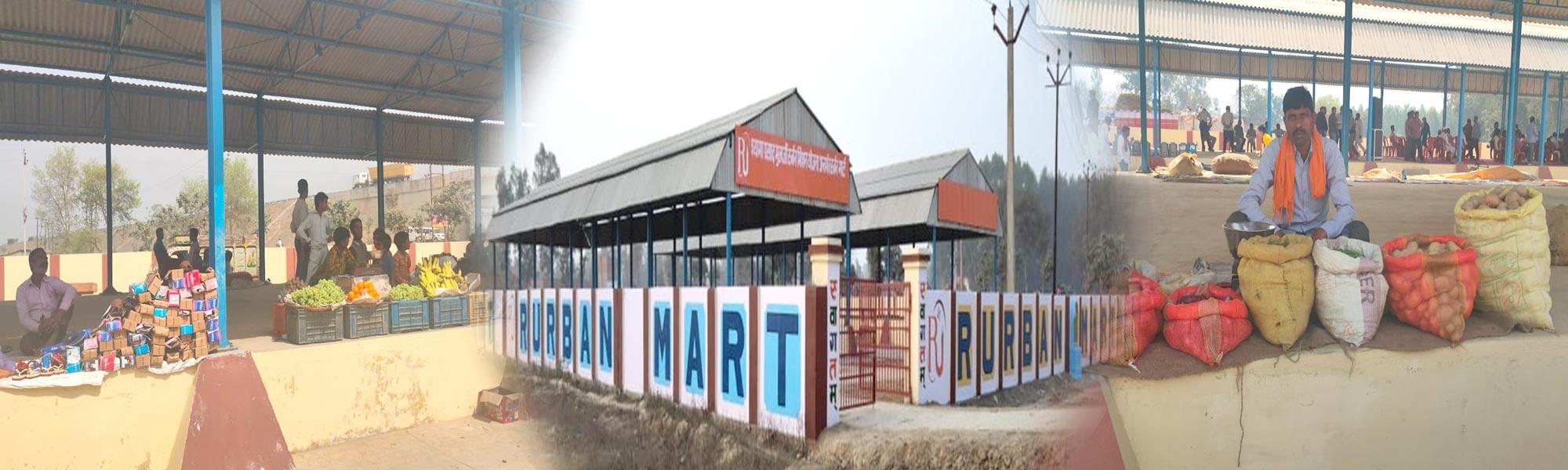 Construction of Rurban Mart